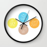 evolution Wall Clocks featuring Evolution by Emily