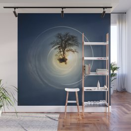 Tiny Planet 5 - The Last Lampost Wall Mural