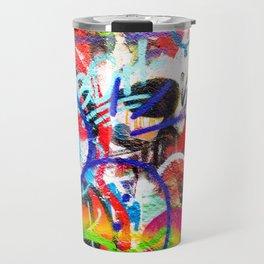 Crazy Graffiti  Travel Mug
