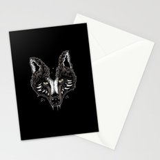 wolf head Stationery Cards