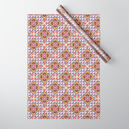 Pansy Wrapping Paper