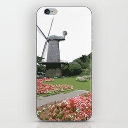 Dutch Windmill - Golden Gate Park iPhone Skin