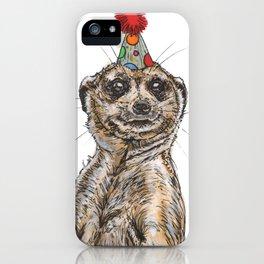 Meerkat Party iPhone Case