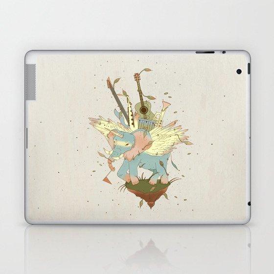 Elephant Caravan Laptop & iPad Skin