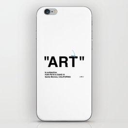 """ART"" iPhone Skin"