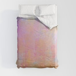Cotton Candy Abstract Comforters