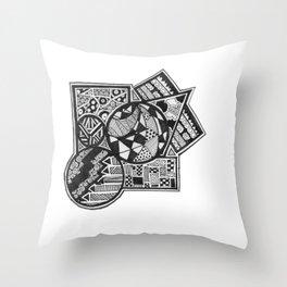 //.SSJ Throw Pillow