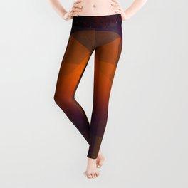 Merkaba, Abstract Geometric Shapes Leggings