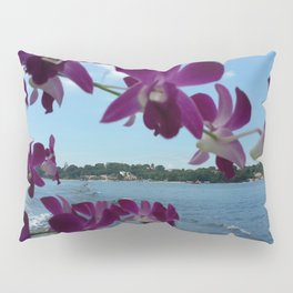 ORCHIDS ON BOARD Pillow Sham