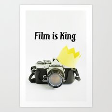 Film is King Art Print