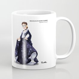 Princess Ruth Bader Ginsberg (Trumble Cartoon) Coffee Mug