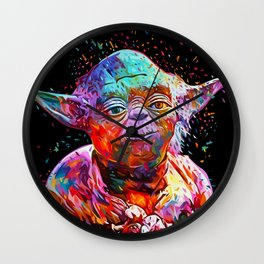 Yoda Wall Clock