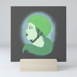 Roller Derby Girl Mini Art Print