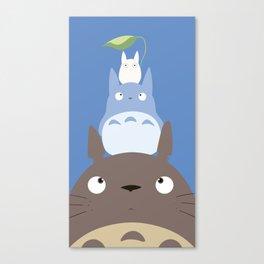 Totoros Canvas Print