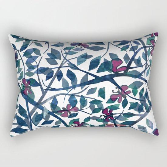 Butterflies in the Garden Rectangular Pillow