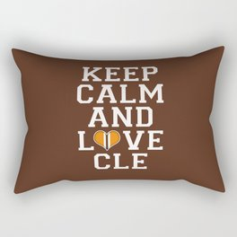 LOVE CLE BROWNS Rectangular Pillow