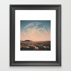 Life on Mars Framed Art Print