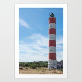 Lighthouse of Berck, Pas-de-Calais Art Print