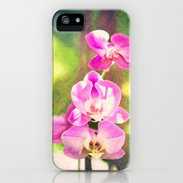 Orchid Impressions iPhone Case