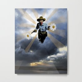 The Cowboy For Love Metal Print