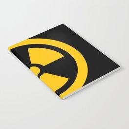 Yellow Radioactive Notebook