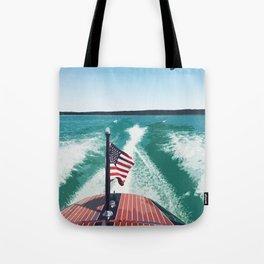 Chris Craft Boating Tote Bag