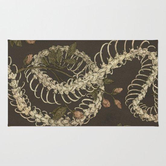 Snake Skeleton Rug