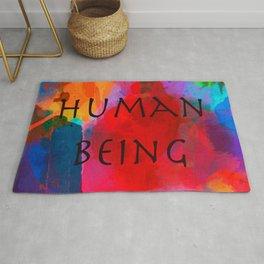 Human being- Pride Rug