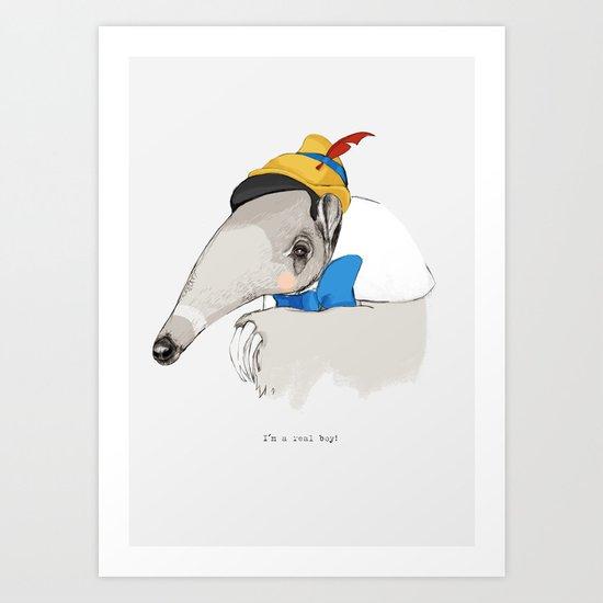 I`m a real boy Art Print