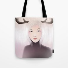women_deer Tote Bag