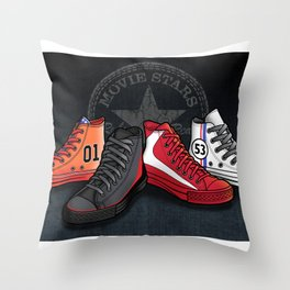 Movie Stars! Throw Pillow