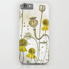 Poppies and Heleniums iPhone 6s Slim Case
