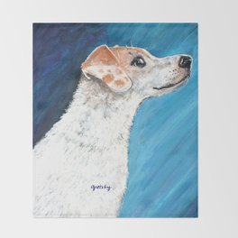 Jack Russell Terrier 2 Throw Blanket
