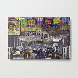 Mercado Oaxaca Metal Print