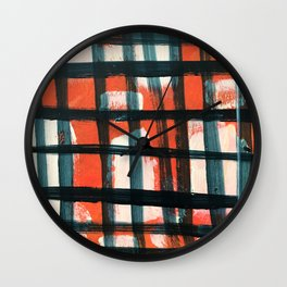 Modern Scottish Twill Wall Clock