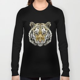 Fractal Tiger Long Sleeve T-shirt