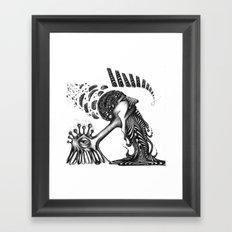 PSYKE Framed Art Print