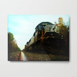 Early Morning Run Metal Print