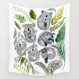 Koala Leef Wall Tapestry