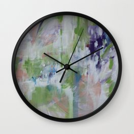 the wolf and the deer Wall Clock