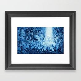 The Velvet Forever Framed Art Print