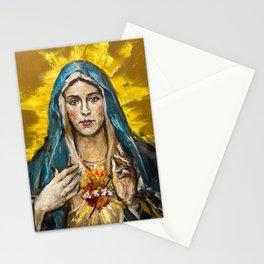 Cor Maria Sacratissimum Stationery Cards