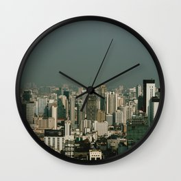 Urban landscape Wall Clock