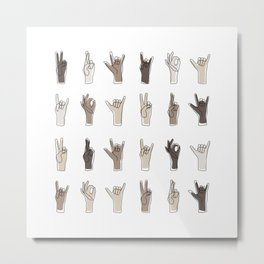 All We Have To Say Metal Print