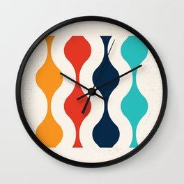 Retro Pop Art Wall Clock