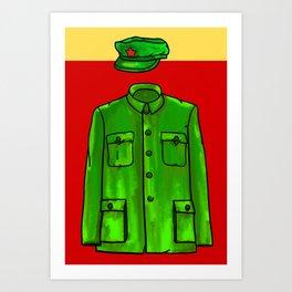 Chairman Mao Art Print