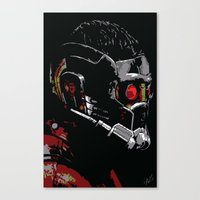 starlord Canvas Prints featuring Starlord by watsonedsherlock