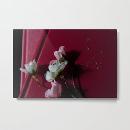 Flowers for Anais Nin Metal Print