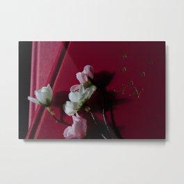 Flowers for Anais Nin Metal Print