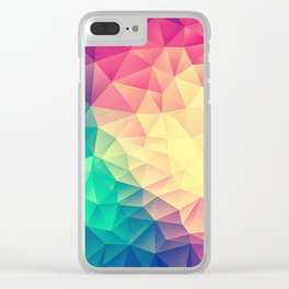 COLOR BOMB! Clear iPhone Case